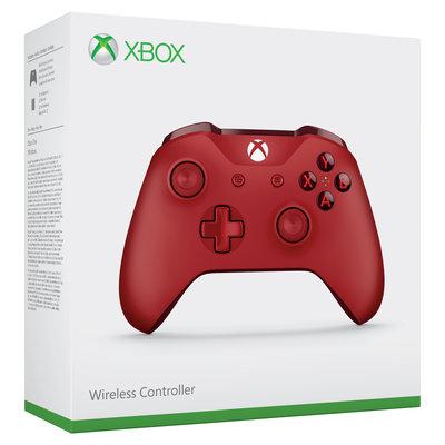 XBOX ONE WIRELESS CONTROLLER (VEZETÉKNÉLKÜLI IRÁNYÍTÓ) RED (HASZNÁLT)