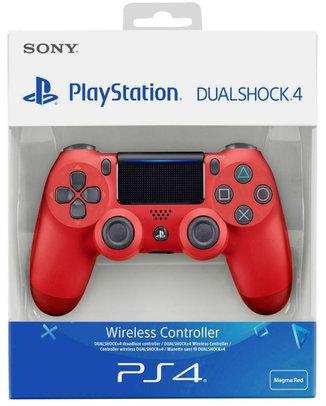 SONY PLAYSTATION 4 (PS4) DUALSHOCK 4 V2 CONTROLLER VÖRÖS (használt)