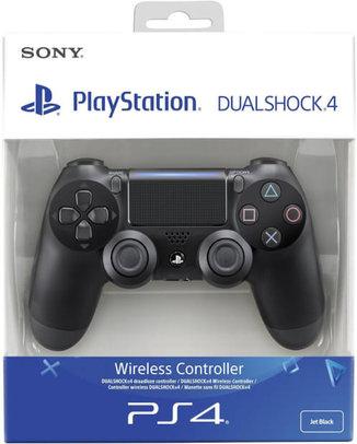 SONY PLAYSTATION 4 (PS4) DUALSHOCK 4 V2 KONTROLLER (JET BLACK, HASZNÁLT)