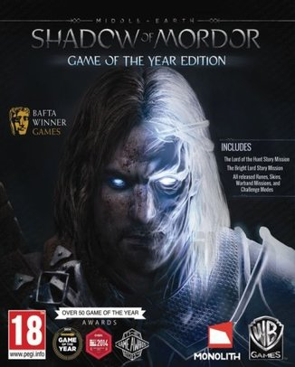 MIDDLE-EARTH SHADOW OF MORDOR GAME OF THE YEAR EDITION (használt)