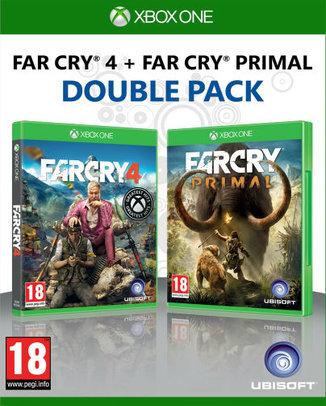 FAR CRY 4 + FAR CRY PRIMAL DOUBLE PACK (HASZNÁLT)