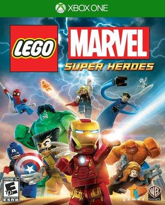 LEGO MARVEL SUPER HEROES (HASZNÁLT)