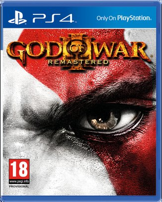 GOD OF WAR III REMASTERED (HASZNÁLT)