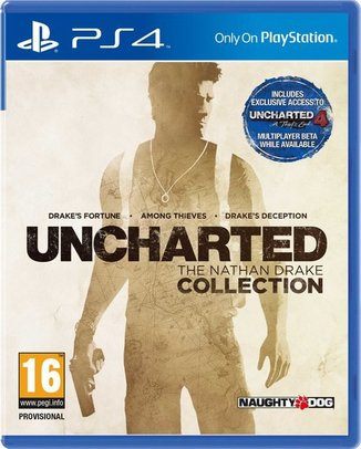 UNCHARTED: THE NATHAN DRAKE COLLECTION (HASZNÁLT)