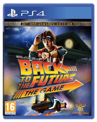 BACK TO THE FUTURE THE GAME (használt)