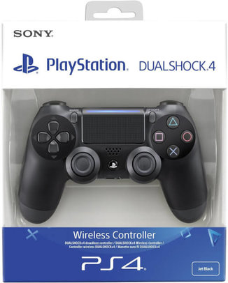 SONY-PLAYSTATION-4-PS4-DUALSHOCK-4-KONTROLLER-JET-BLACK-HASZNALT-