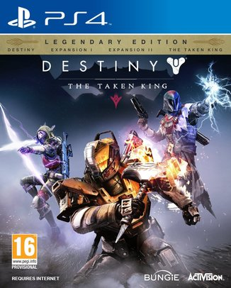 DESTINY THE TAKEN KING LEGENDARY EDITION (használt)