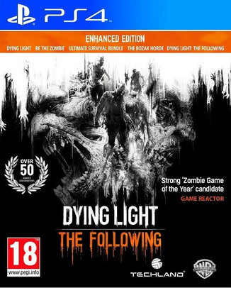 Dying Light The Following Enhanced Edition (használt) PS4