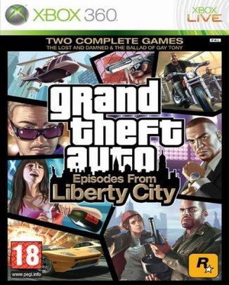 GRAND THEFT AUTO (GTA) EPISODES FROM LIBERTY CITY (HASZNÁLT)