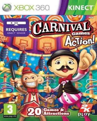 KINECT CARNIVAL GAMES (HASZNÁLT)