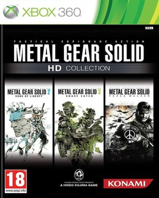 METAL GEAR SOLID HD COLLECTION (HASZNÁLT)