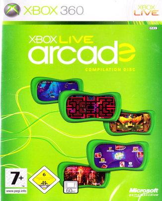 XBOX LIVE ARCADE COMPILATION DISC (HASZNÁLT)