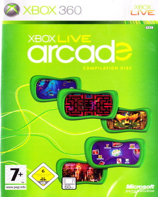 XBOX-LIVE-ARCADE-COMPILATION-DISC-HASZNALT