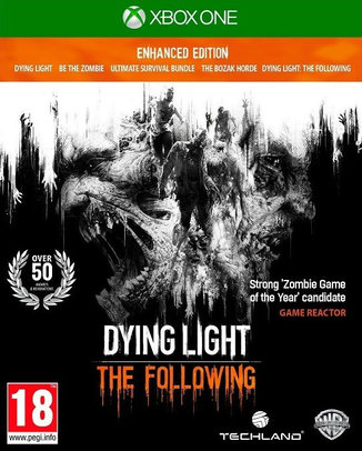 DYING LIGHT THE FOLLOWING ENHANCED EDITION (HASZNÁLT)