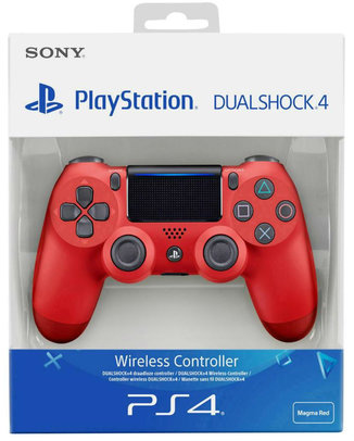 SONY PLAYSTATION 4 (PS4) DUALSHOCK 4 V2 CONTROLLER VÖRÖS