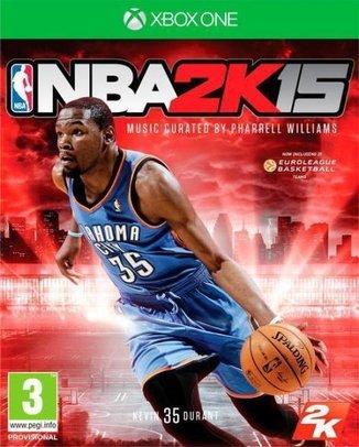 NBA 2K15 (HASZNÁLT)