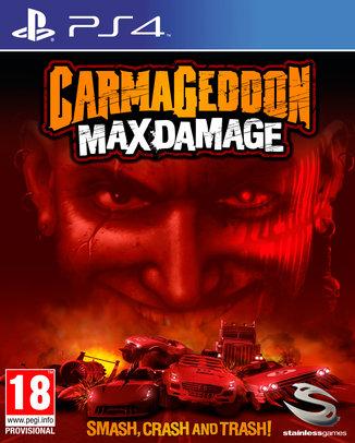 CARMAGEDDON MAX DAMAGE (HASZNÁLT)