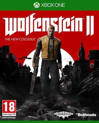 WOLFENSTEIN II THE NEW COLOSSUS (HASZNÁLT)