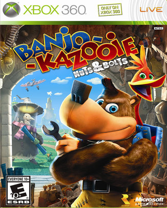 BANJO-KAZOOIE-NUTS-AND-BOLTS-HASZNALT