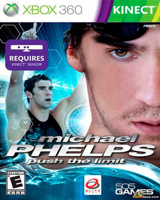 KINECT-MICHAEL-PHELPS-PUSH-THE-LIMIT-HASZNALT