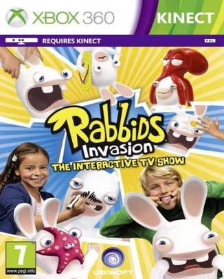 KINECT RABBIDS INVASION THE INTERACTIVE TV SHOW  (HASZNÁLT)