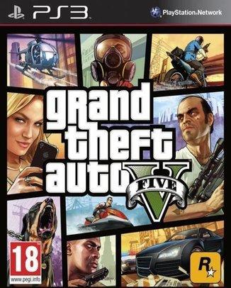 GRAND THEFT AUTO (GTA) V (5) (HASZNÁLT)