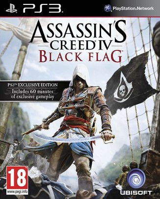 ASSASSIN'S CREED BLACK FLAG (HASZNÁLT)
