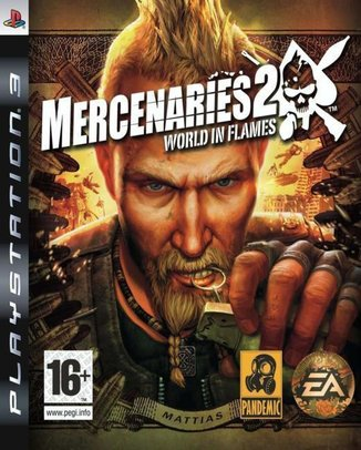 MERCENARIES 2 WORLD IN FLAMES (HASZNÁLT)