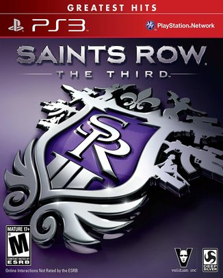 SAINTS ROW THE THIRD (HASZNÁLT)