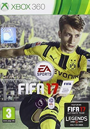 FIFA 17 (HASZNÁLT)  X360