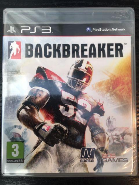 BACKBREAKER (HASZNÁLT) PS3