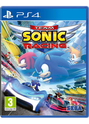 SONIC TEAM RACING (HASZNÁLT) PS4