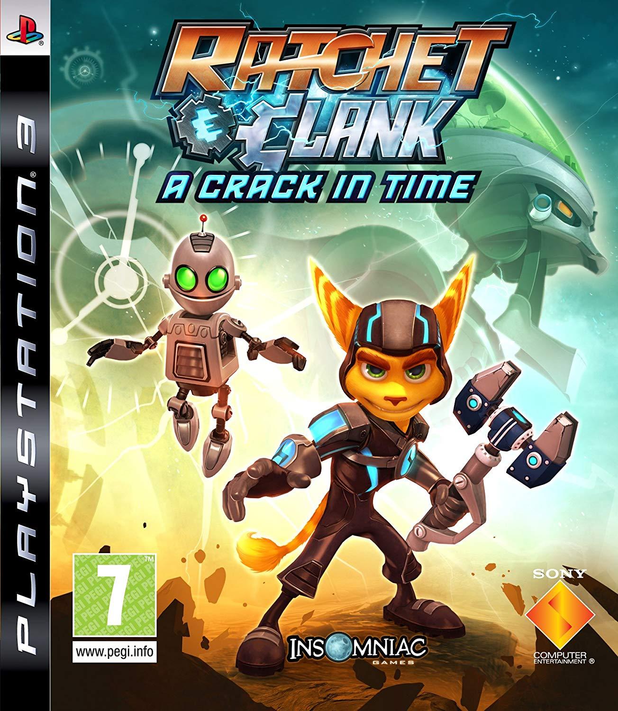 RATCHET & CLANK A CRACK IN TIME (HASZNÁLT) PS3