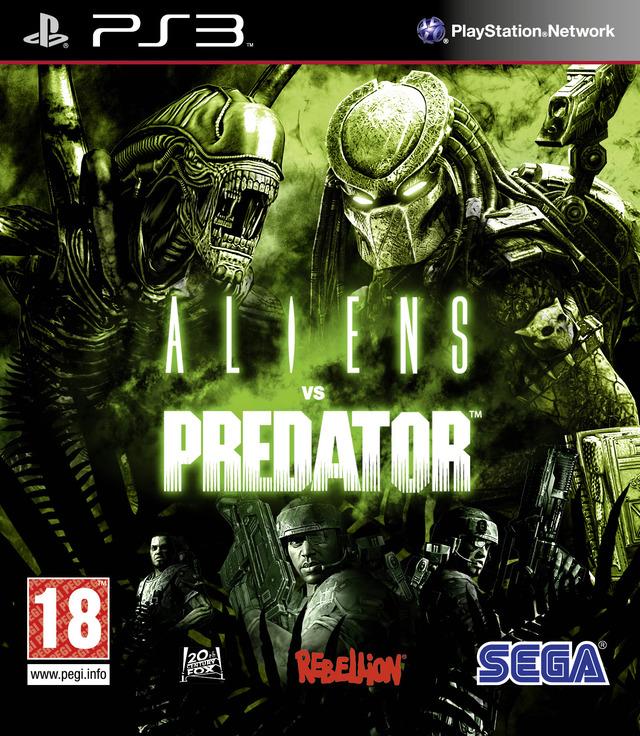 ALIENS VS PREDATOR (HASZNÁLT) PS3