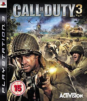 CALL OF DUTY 3 (HASZNÁLT) PS3