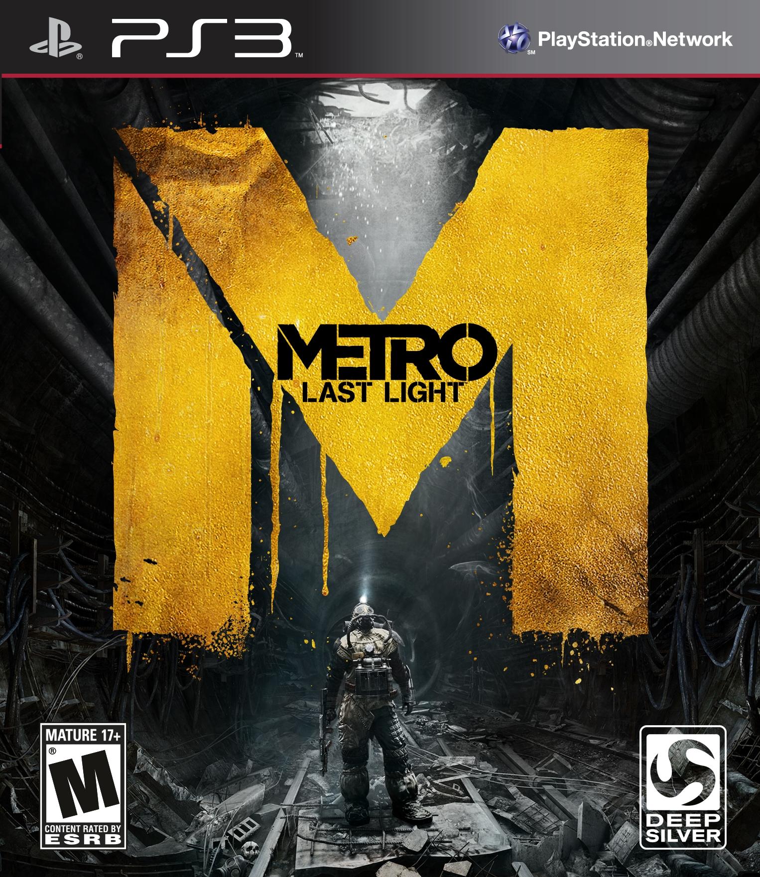 METRO LAST LIGHT (HASZNÁLT) PS3