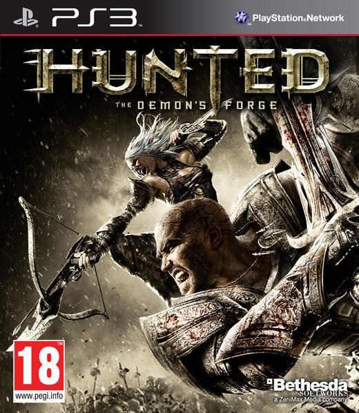 HUNTED THE DEMON'S FORGE (HASZNÁLT) PS3