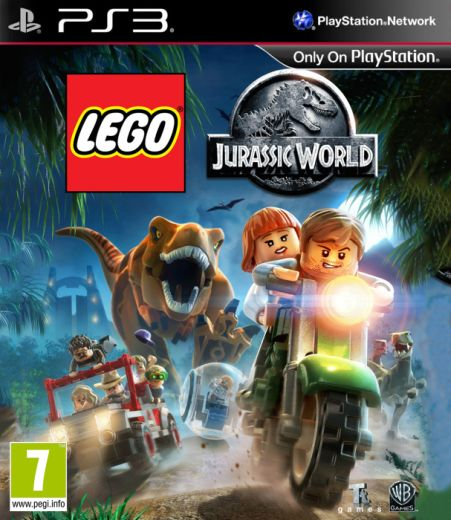 LEGO JURASSIC WORLD (HASZNÁLT)