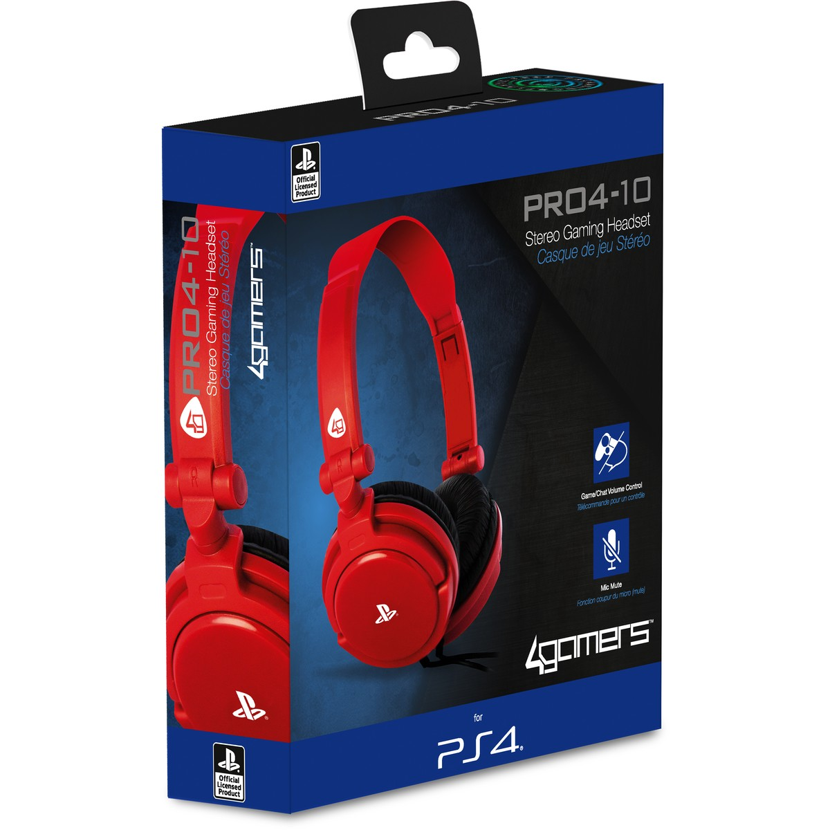 4GAMERS PS4 HEADSET