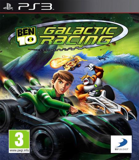 BEN 10 GALACTIC RACING (HASZNÁLT)