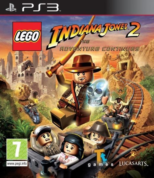 LEGO INDIANA JONES 2 (HASZNÁLT)