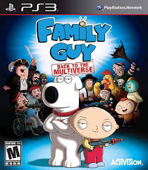 FAMILY GUY BACK TO THE MULTIVERSE (HASZNÁLT)