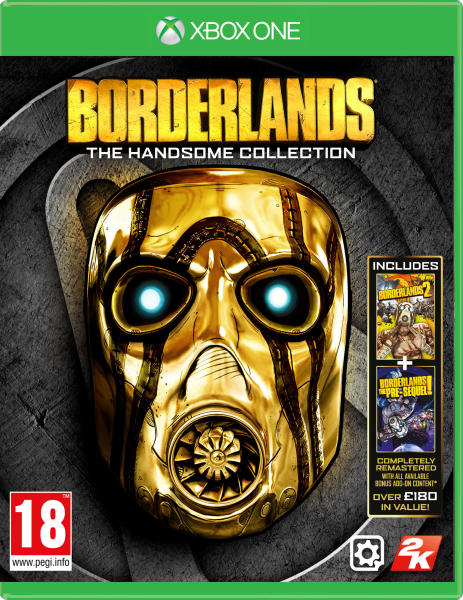 BORDERLANDS: THE HANDSOME COLLECTION (HASZNÁLT)