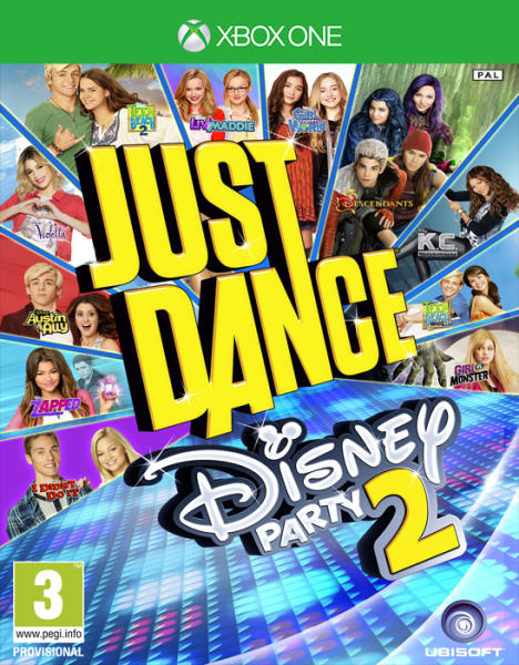 JUST DANCE DISNEY PARTY 2 (HASZNÁLT)