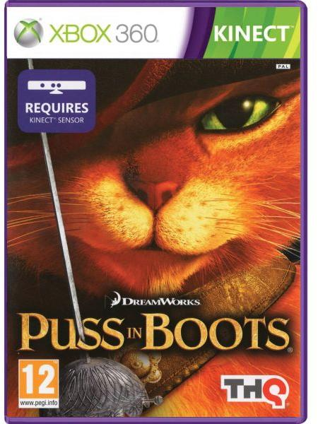 KINECT PUSS IN BOOTS