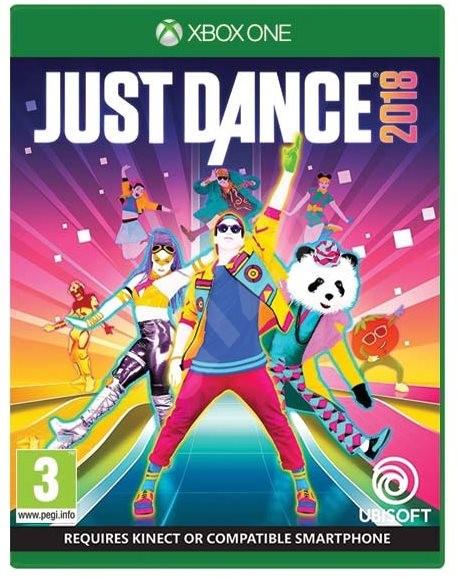 JUST DANCE 2018 (HASZNÁLT)