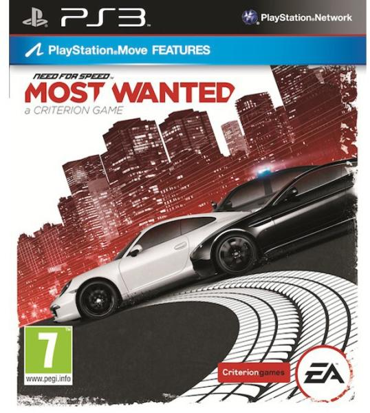 NEED FOR SPEED MOST WANTED (HASZNÁLT)