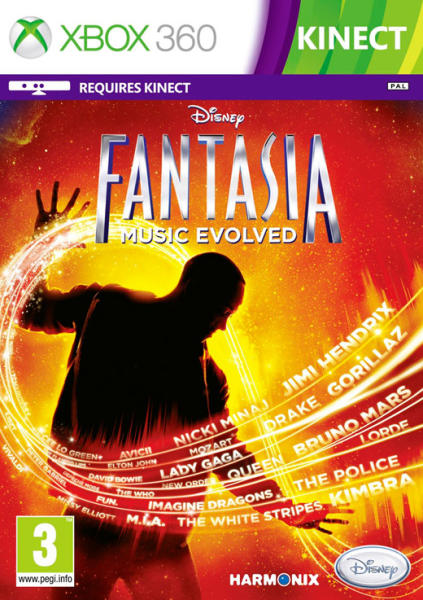 KINECT DISNEY FANTASIA MUSIC EVOLVED (HASZNÁLT)
