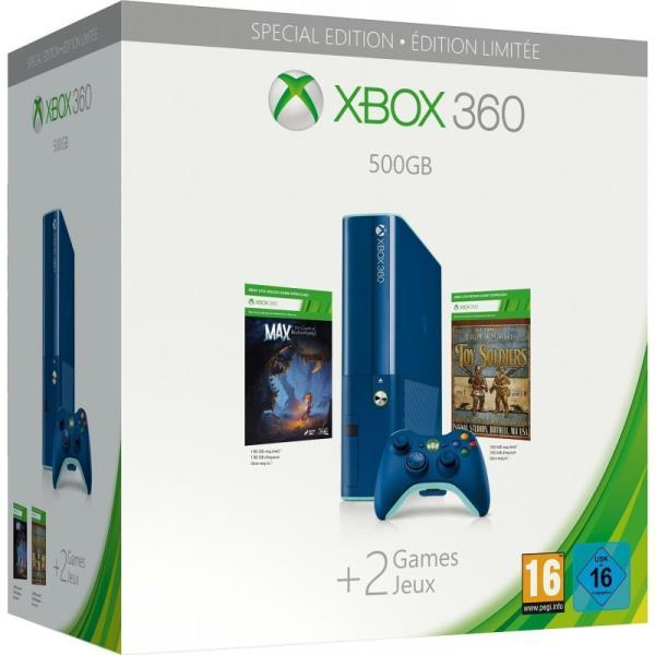 XBOX 360 SLIM E 500 GB (használt)