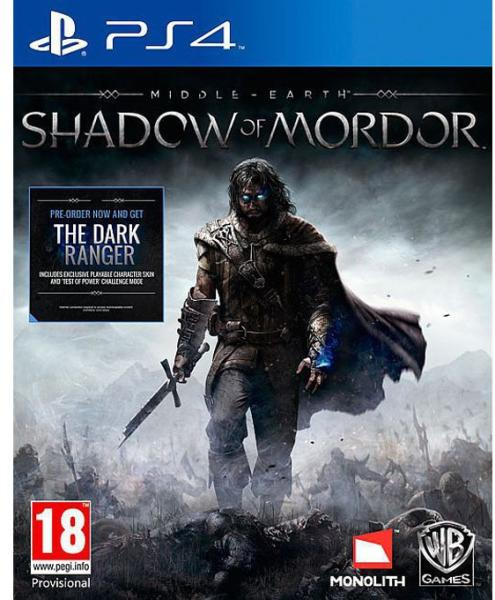 MIDDLE -EARTH SHADOW OF MORDOR (HASZNÁLT)